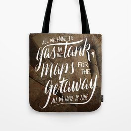 maps for the getaway Tote Bag