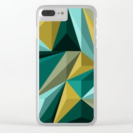 Polygon 3 Clear iPhone Case