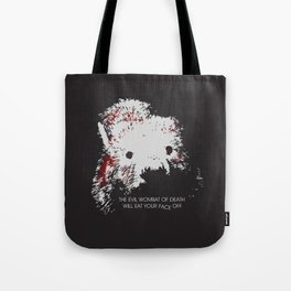 Evil Wombat of Death Tote Bag