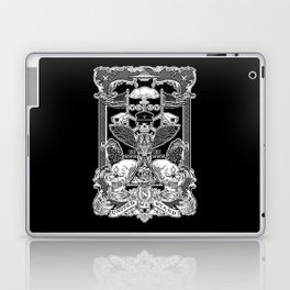 THE POLITICS OF GREED Laptop & iPad Skin