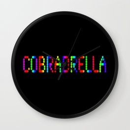 COBRADRELLA Wall Clock
