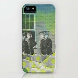 Fluo Police iPhone Case