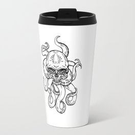 Lisa's Nightmare (B&W) Travel Mug