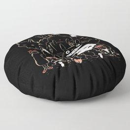 Portrait family Floor Pillow