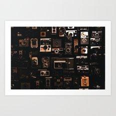 Camera Wall Art Print