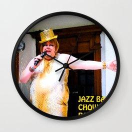 Jazz Baby Wall Clock