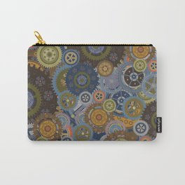 Steampunk Clockworks and Gears Carry-All Pouch