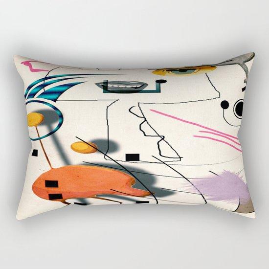 The Chicken Farmer Rectangular Pillow
