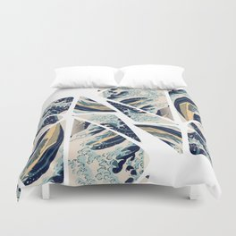 My worries are on waves! Duvet Cover