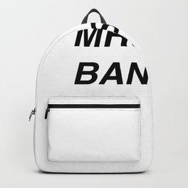 Mrs. Banksy Backpack