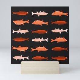 Red Fish, Less Red Fish Mini Art Print