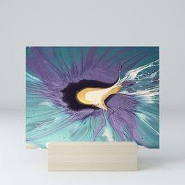 Blue Topaz Petunia Mini Art Print
