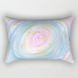 Pastel Galaxy Rectangular Pillow