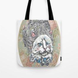 Meowrie Antoinette Tote Bag