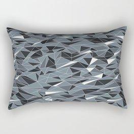 Geometric Summer Mountains Rectangular Pillow