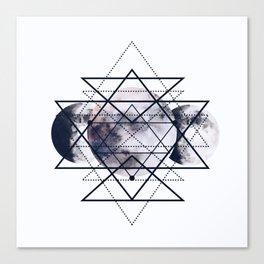 Solar Diamonds Canvas Print