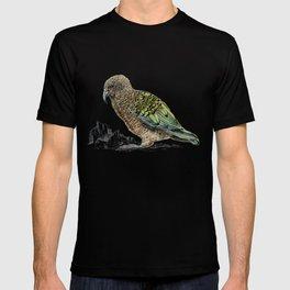 Mr Kea, New Zealand parrot T-shirt