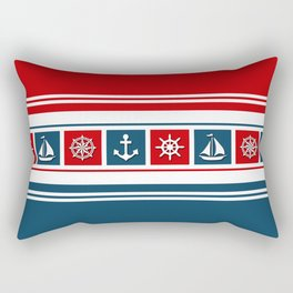 Nautical symbols Rectangular Pillow