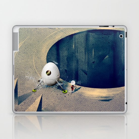"Lunarize ""Big Hole"" Print Laptop & iPad Skin"