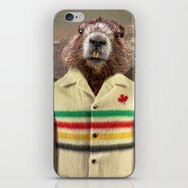 Hudson Beaver iPhone Skin