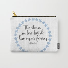 The Stories We Love Best Carry-All Pouch