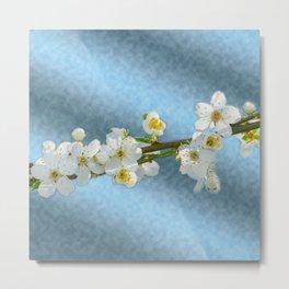 Flower branch - spring is coming #1 Metal Print