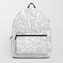 Topographic Map 02D Backpack