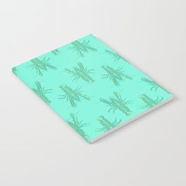 Green Lobster Notebook
