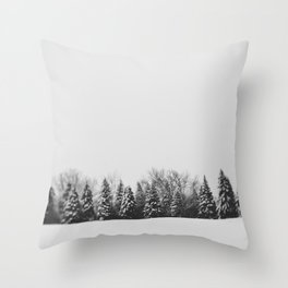 Pine Line Throw Pillow