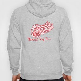 dertroit wing tires Hoody