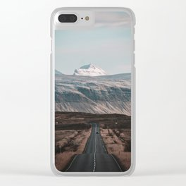 A Road to Nowhere Clear iPhone Case