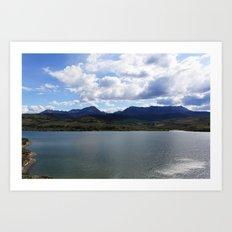 Unknown Lake Art Print