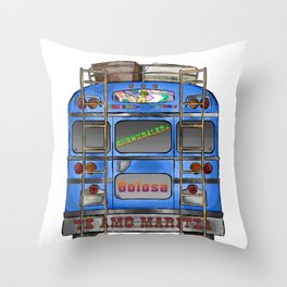 Cuchubalera Throw Pillow
