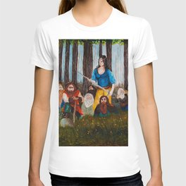 Snow-White and the Seven Dwarves T-shirt