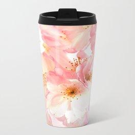Cherry Blossom Metal Travel Mug