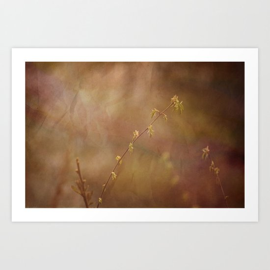 New Leaves Art Print