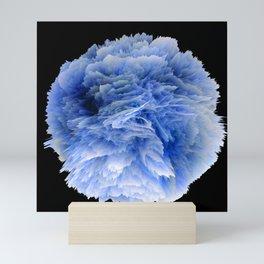 Fantasy Sea Anemone in Blue Mini Art Print