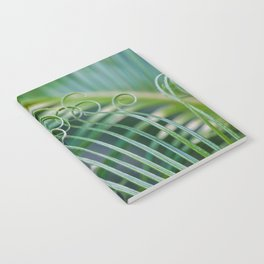 Palm frond spirals Notebook