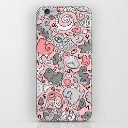 PLAYTIME_PINK iPhone Skin