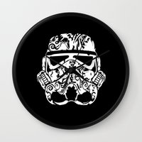 wwe Wall Clocks featuring Trooper by eARTh