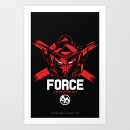 FORCE SIGMA RED Limited Edition Art Print