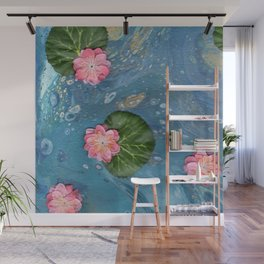 Water Lillies Wall Mural