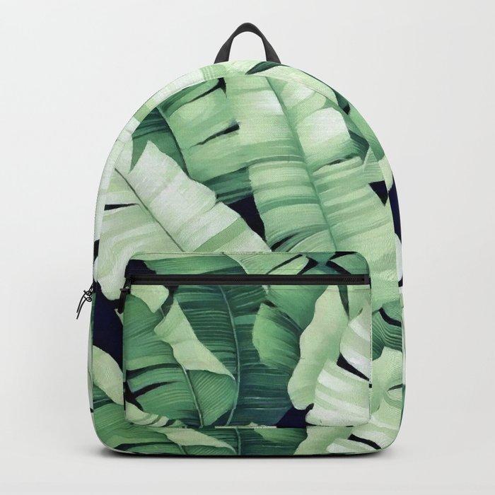 Banana leaves III Backpack