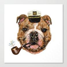 Mr.Bull Canvas Print