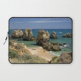 Rocky cove, the Algarve, Portugal Laptop Sleeve