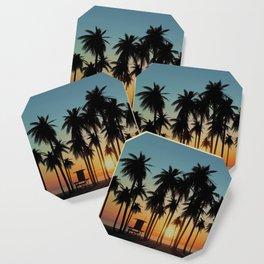 Newport Sunset in 3D Coaster