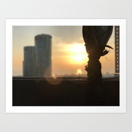 Morning Blaze - Cavite, Philippines Art Print