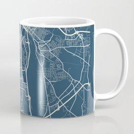 Richmond Blueprint Street Map, Richmond Colour Map Prints Coffee Mug