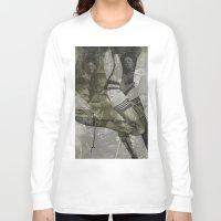 bitch Long Sleeve T-shirts featuring war bitch by Maria Enache