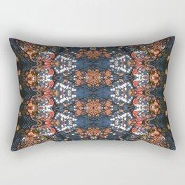 Autumnal mosaic Rectangular Pillow